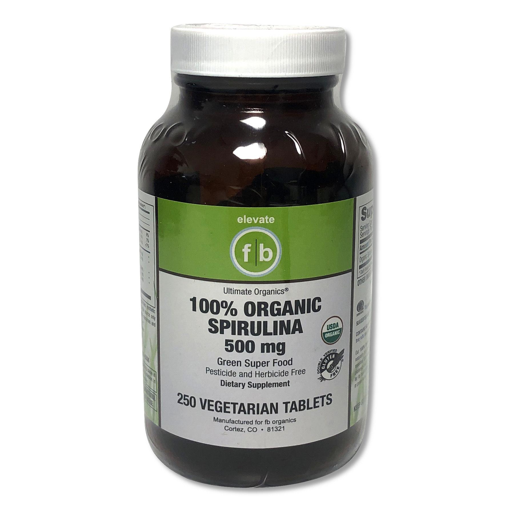 Organic Spirulina 500 mg-1