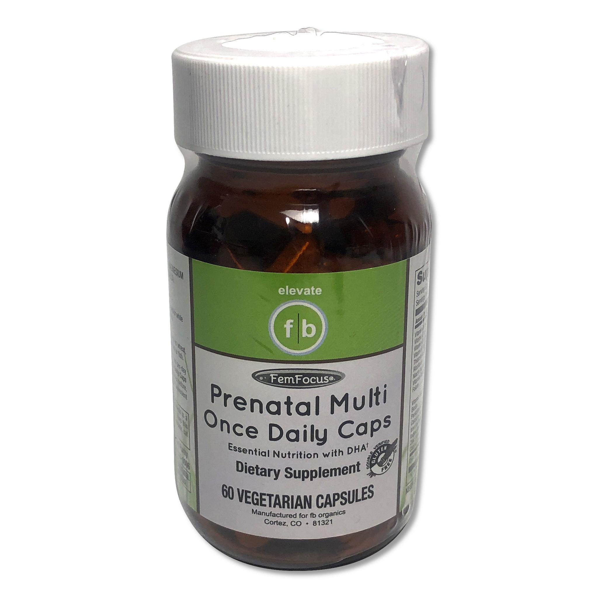 Prenatal Multi Once Daily Caps 60CT-1