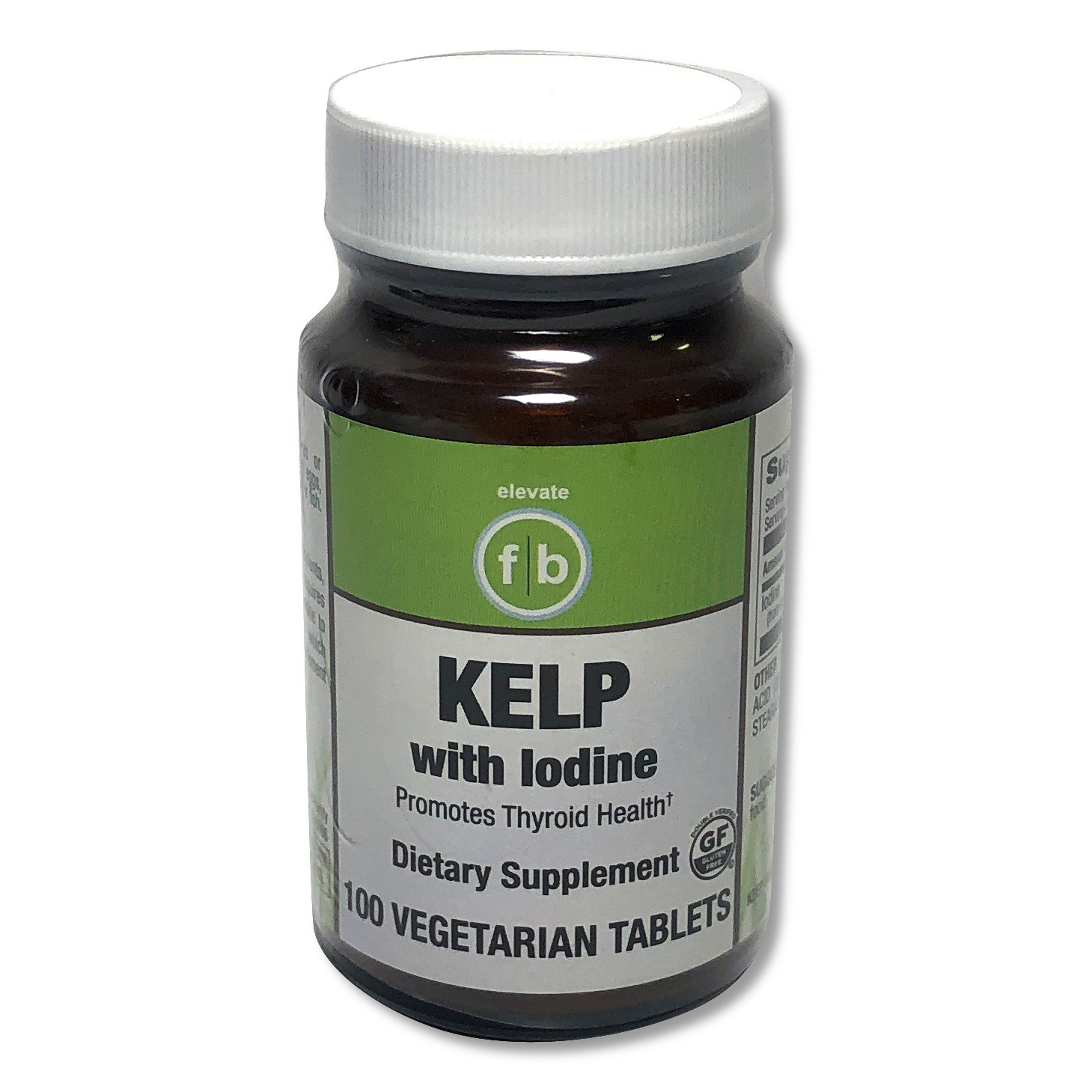 Kelp with Iodine-1