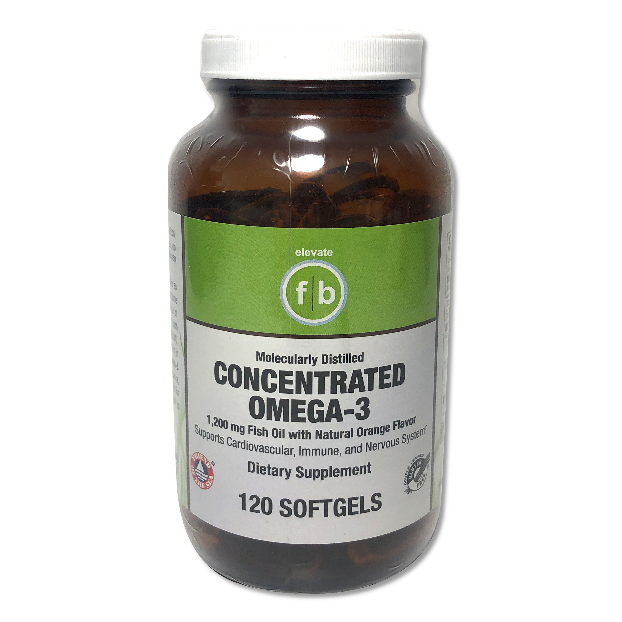 Concentrated Omega-3 1,200mg-1