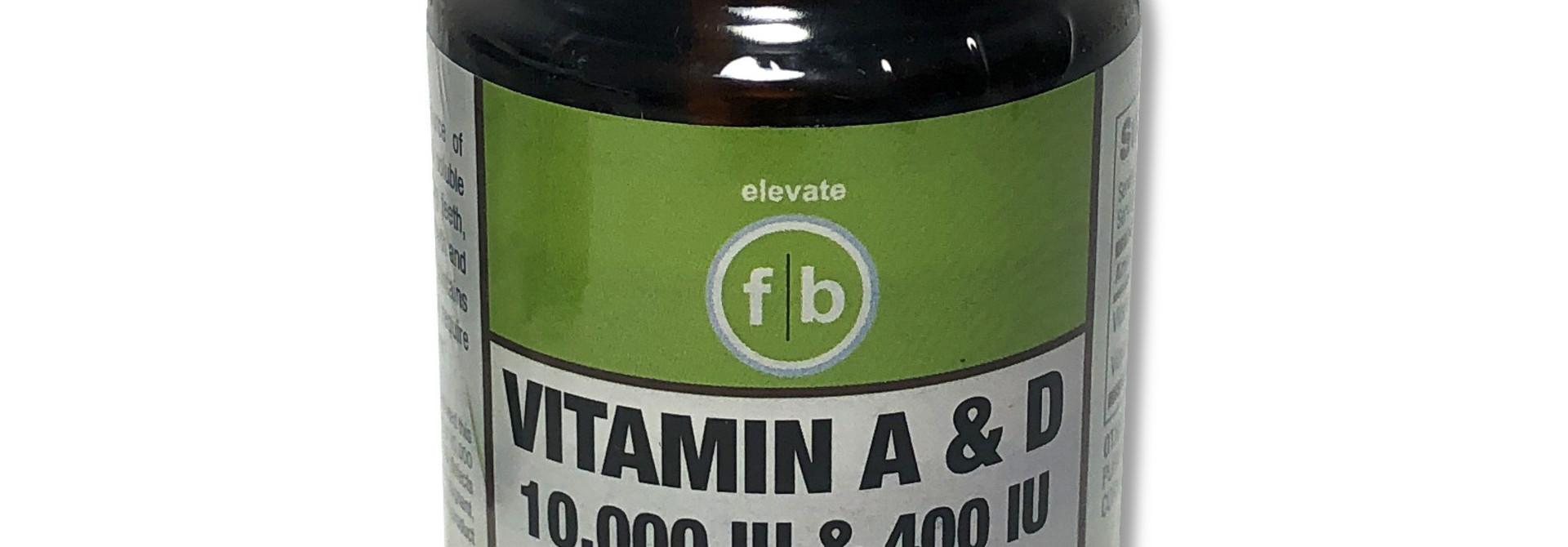 Vitamin A & D 10,000 & 400 IU