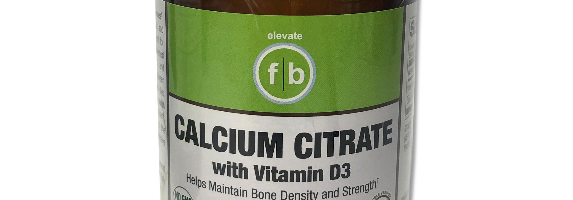 Calcium Citrate with Vitamin D3