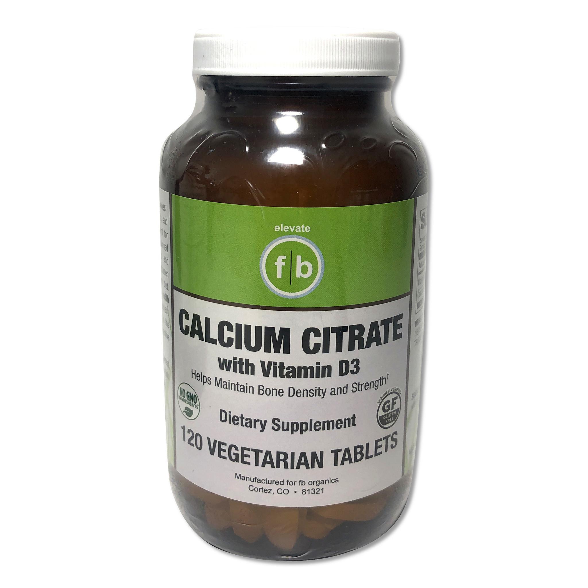 Calcium Citrate with Vitamin D3-1