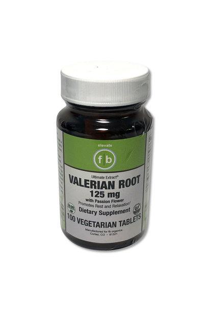 FLATBELLY VITAMINS VALERIAN ROOT - 125mg