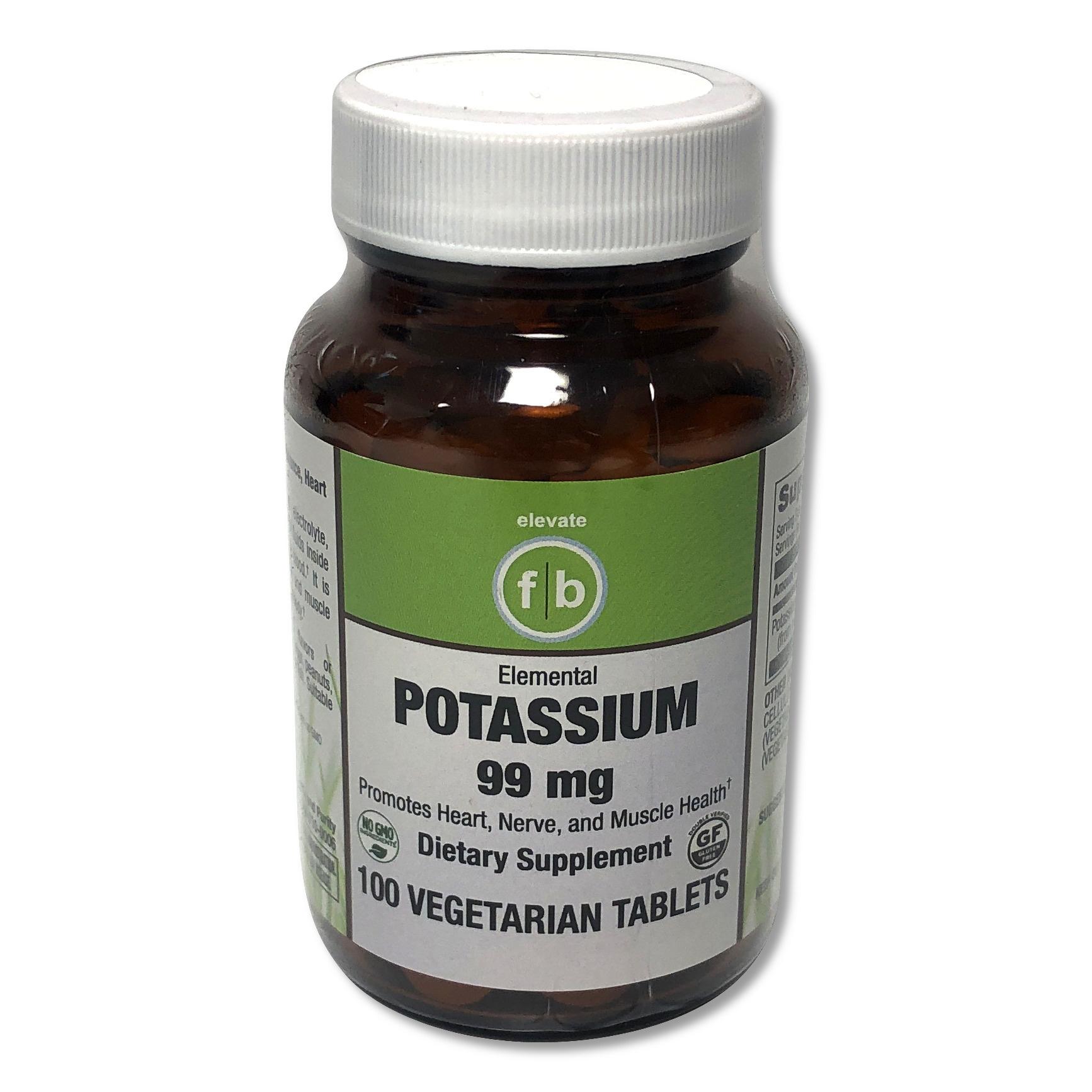 Potassium 99mg-1