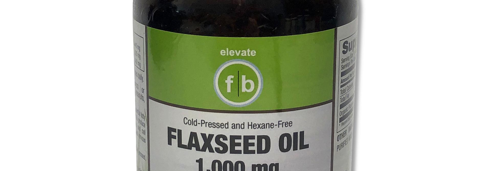 Organic Flaxseed Oil 1,000mg