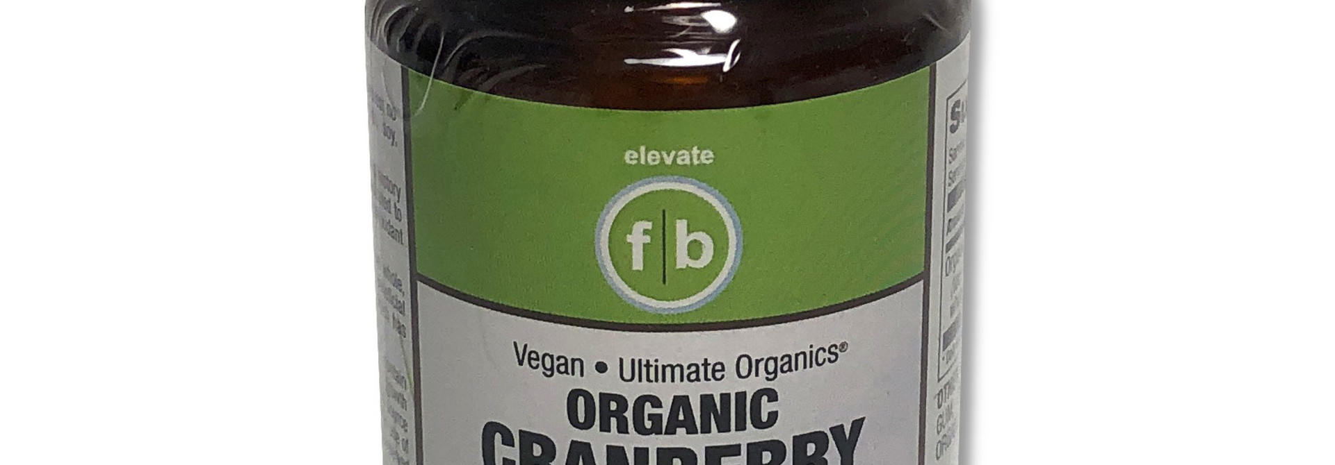 Organic Cranberry 500 mg