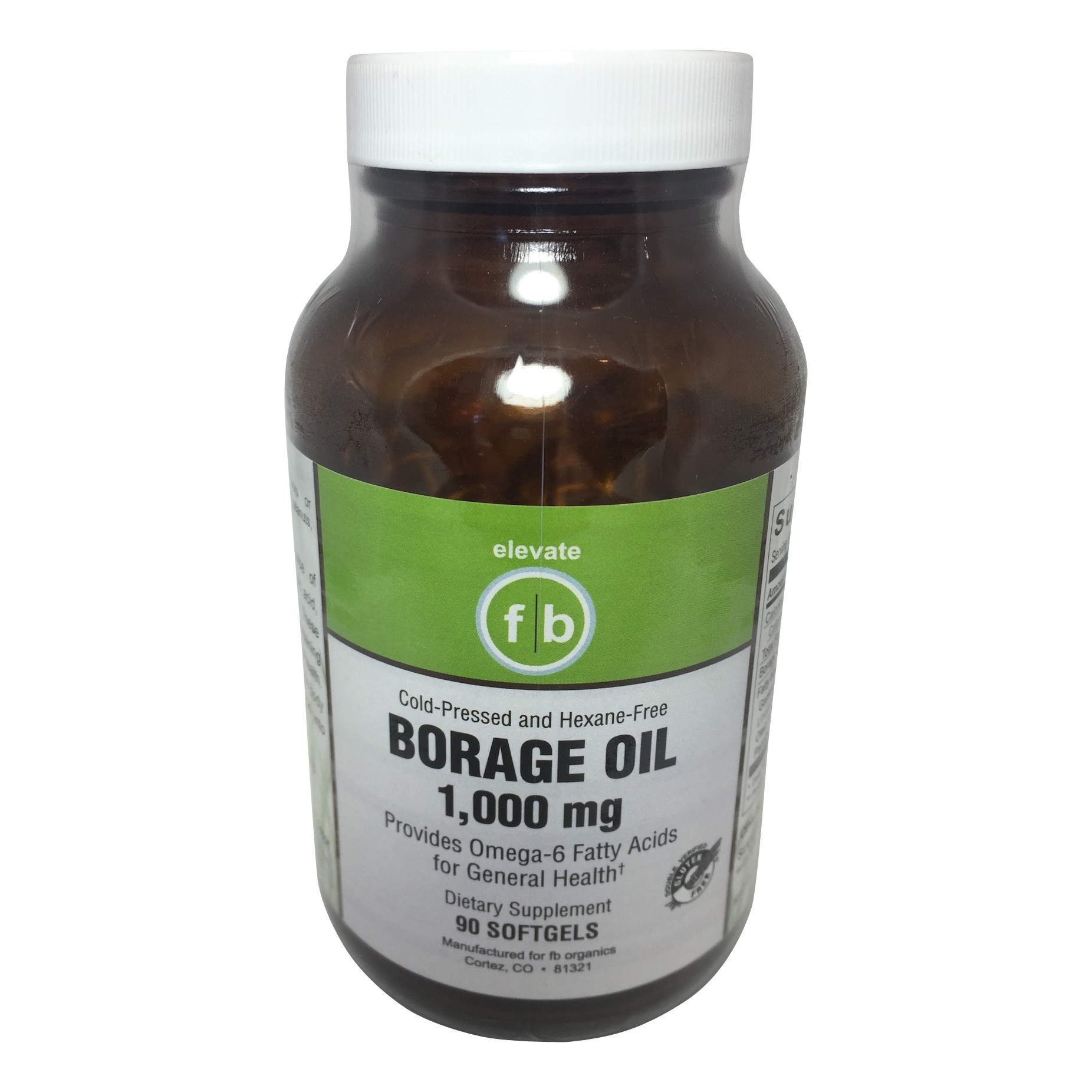 Borage Oil 1,000mg-1