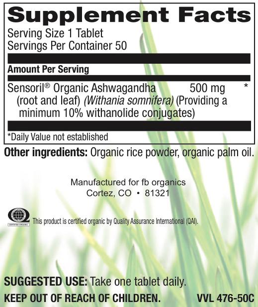 Organic Ashwagandha 500MG-2