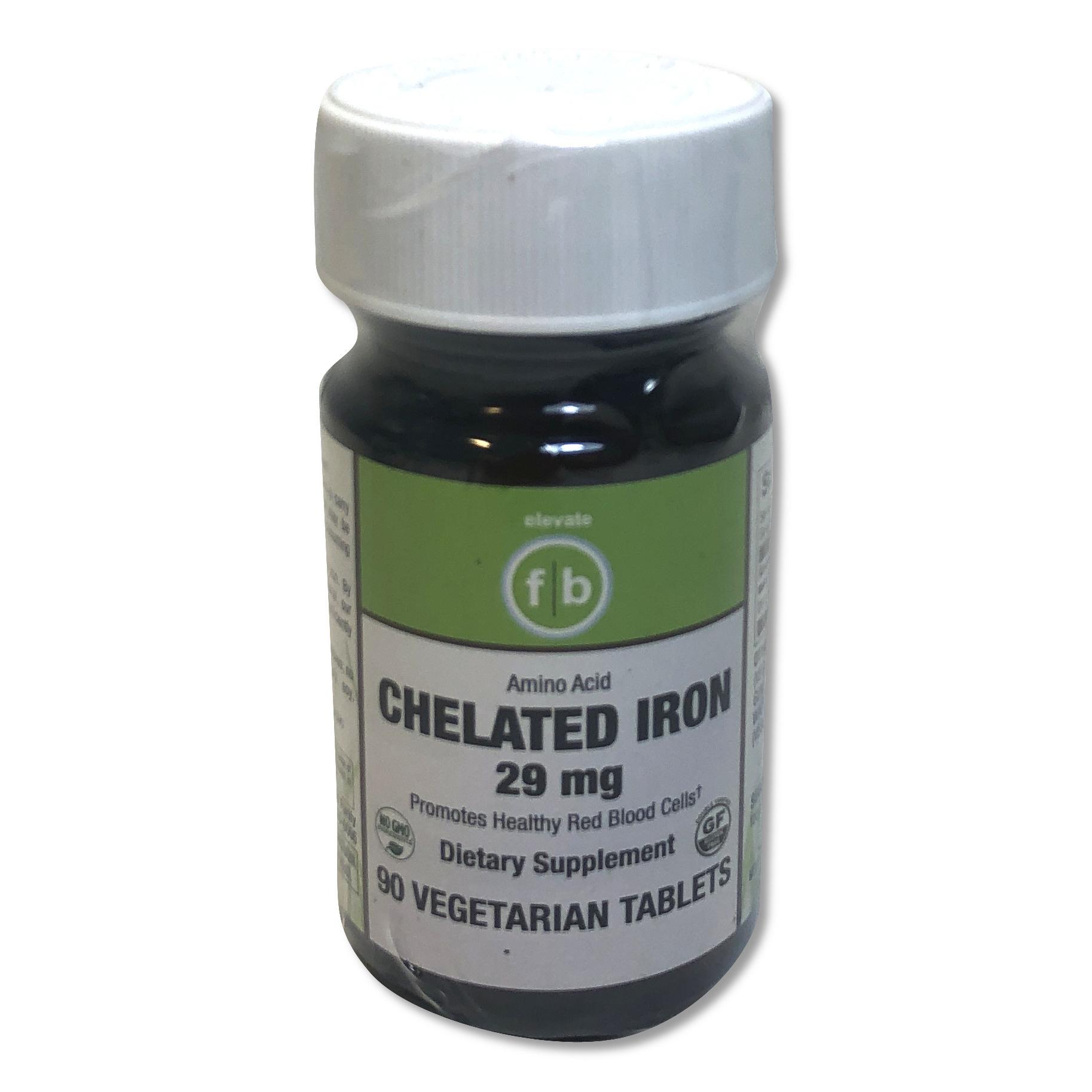 Chelated Iron 29mg-1