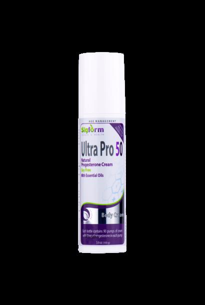 SigForm ULTRA PRO 50 PROGESTERONE CREAM - 3.6oz