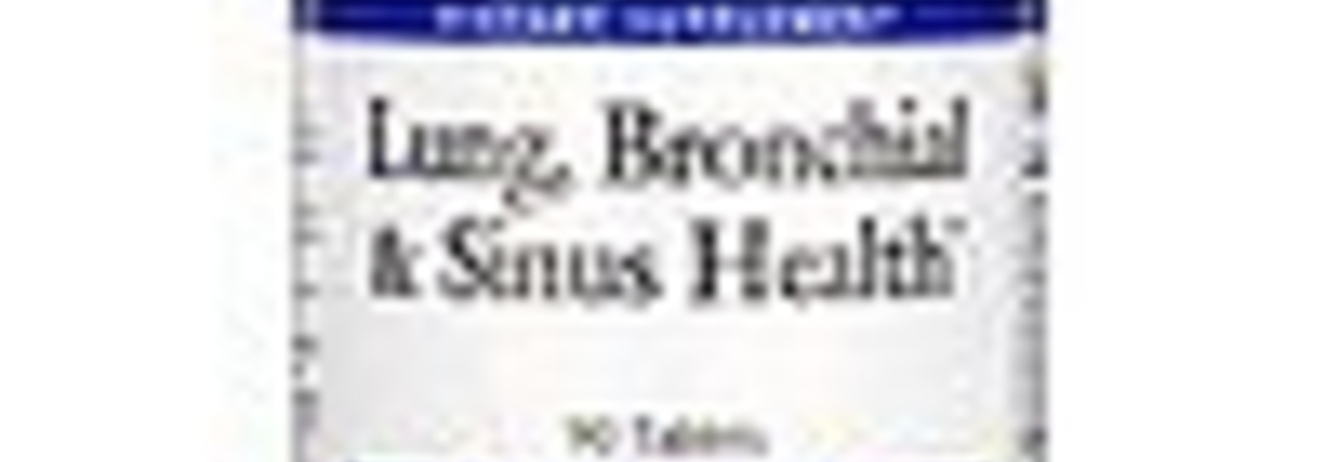 LUNG, BRONCHIAL, & SINUS HEALTH 90CT