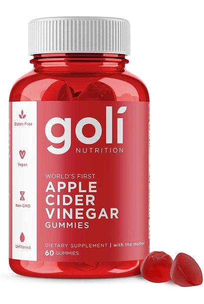 GOLI NUTRITION ACV GUMMIES 60pc