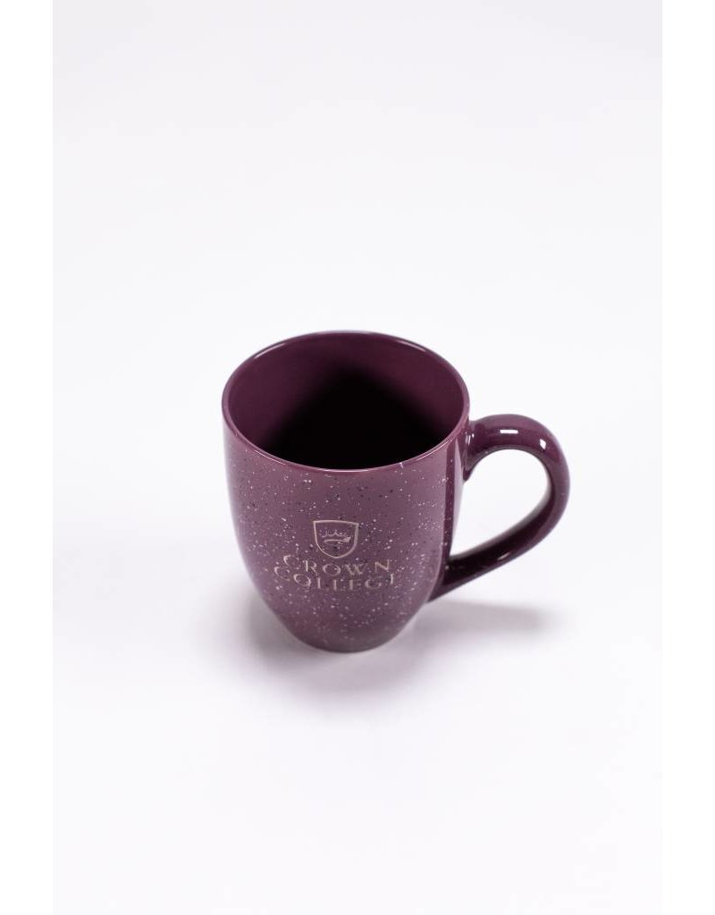 LXG Purple Speckled Mug