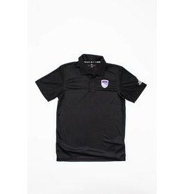 Adidas Men's plain black polo