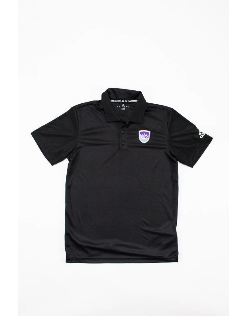 Adidas Adidas Men's plain black polo