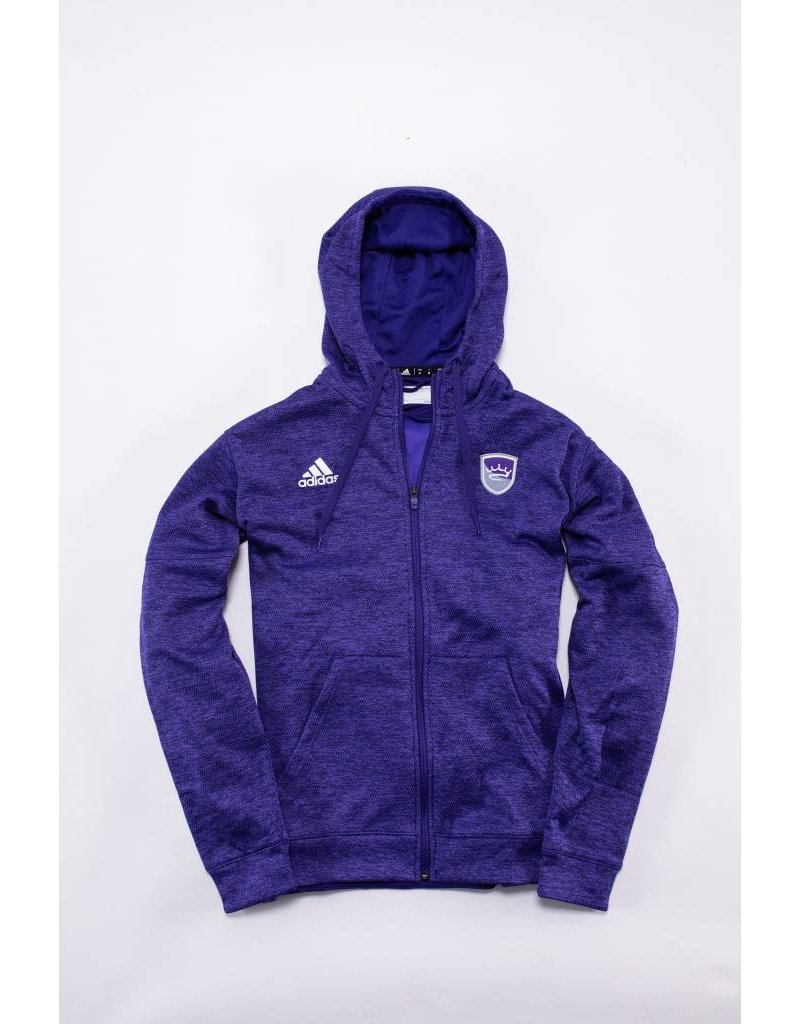 Adidas Men's Full Zip Heathered