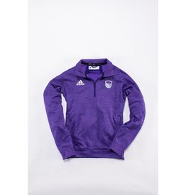 Adidas Adidas heathered 1/4 zip