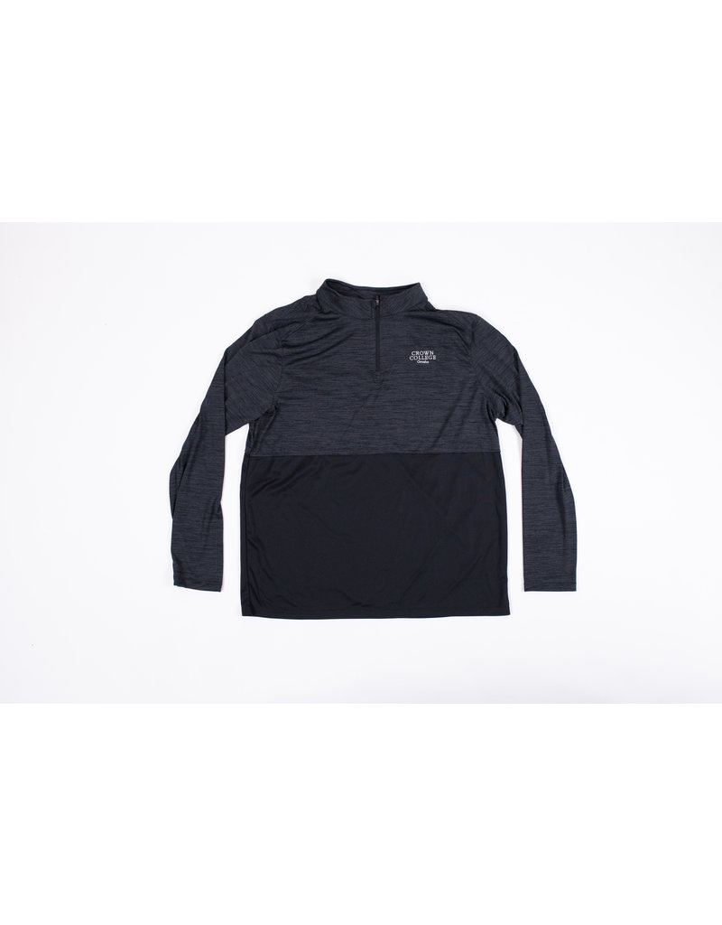 Men's Crown Omaha 1/4 Zip Black