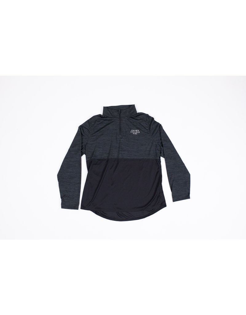 Women's Crown Omaha 1/4 Zip Black