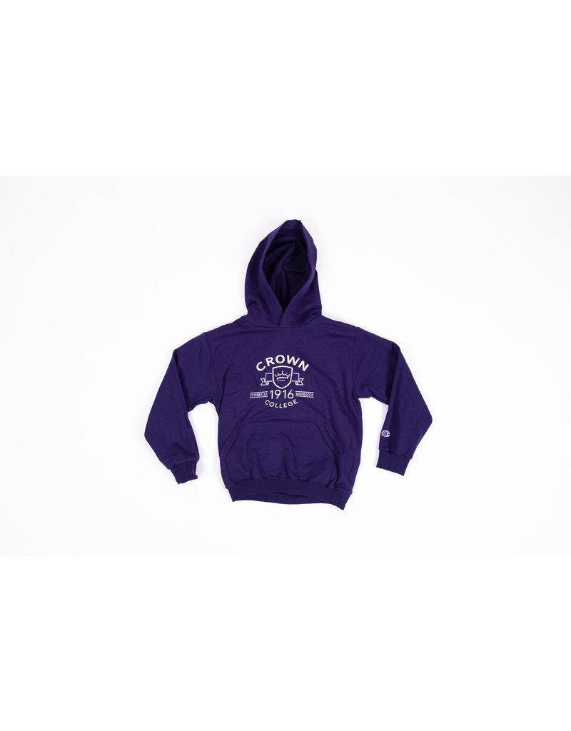 Champion Youth Purple Hood