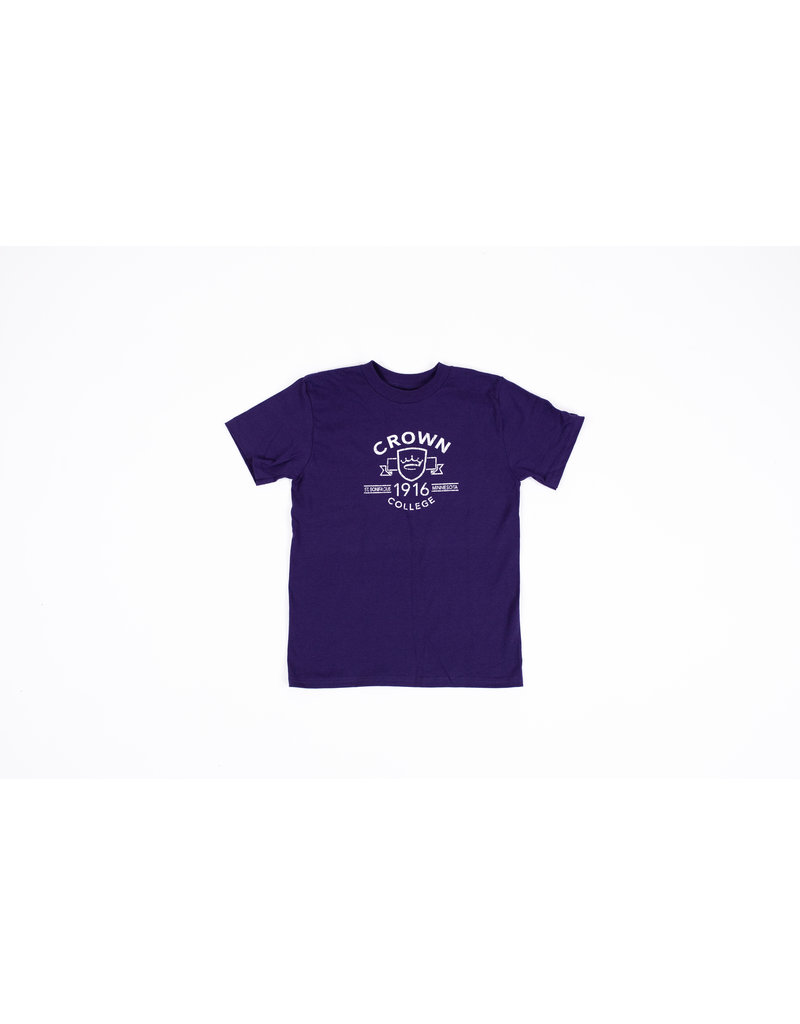 Champion Youth Purple Tee