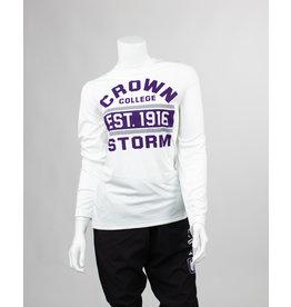 White Crown Storm L/S Athletic Fit