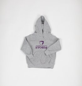 Toddler Grey PB Hood