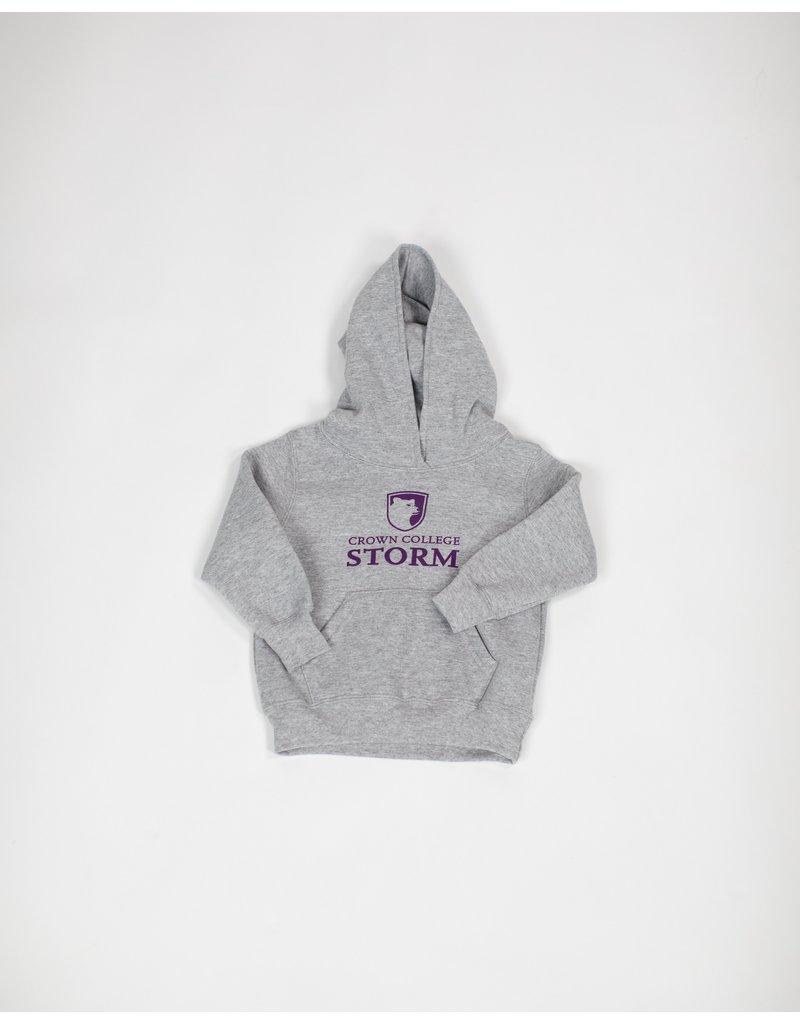 Toddler Grey PB Hood