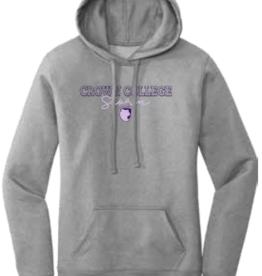 Port & Company Grey Womens Core Fleece Hoodie