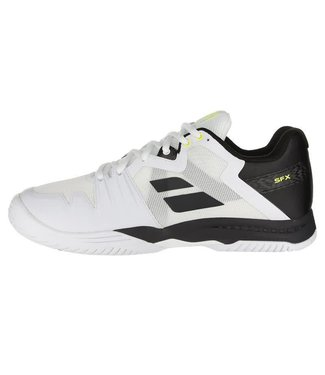 Babolat SFX3 Men's Tennis Shoe WIDE (White/Black) 2018