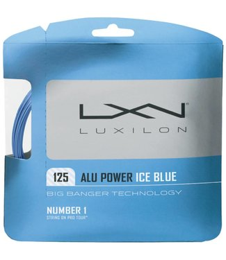 Luxilon Luxilon ALU Power 125 Tennis String (Ice Blue)