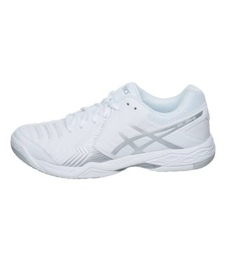 Asics Asics Gel-Game 6 (White/Silver) Men's Tennis Shoe