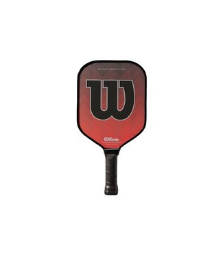 Wilson Energy Pro Pickleball Paddle (Red) - by Engage