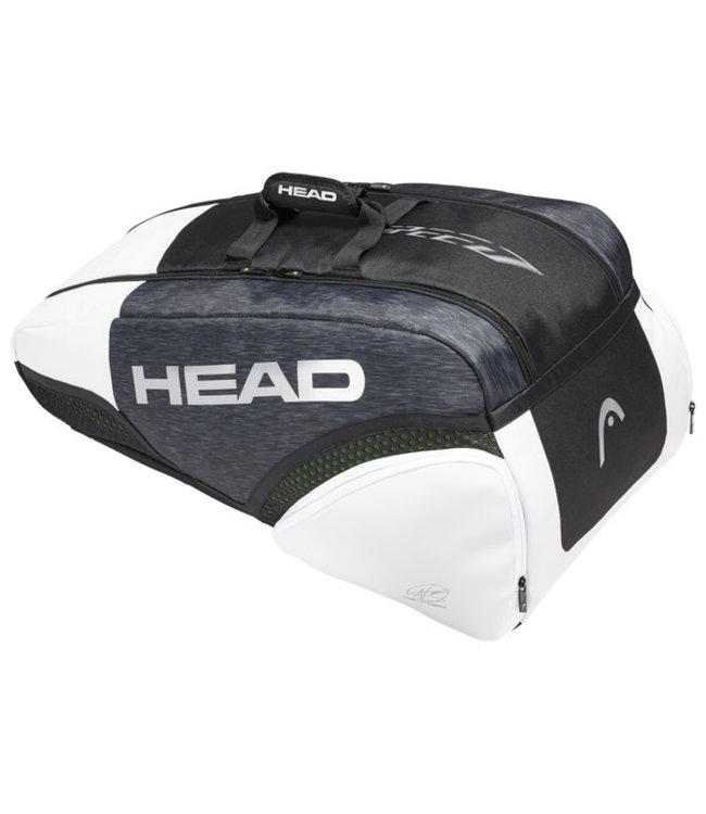 Head Head Djokovic 9R Supercombi Racket Bag