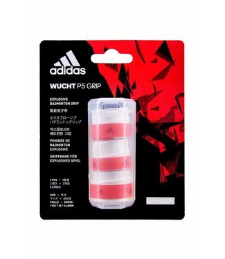 adidas Wucht P5 Overgrip- 3-Pack, White