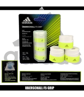 adidas Uberschall F5 Overgrip- 3-Pack, White