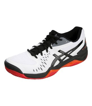 Asics AS Gel-Challen12 (Wh/BK) Mens Tennis Shoe