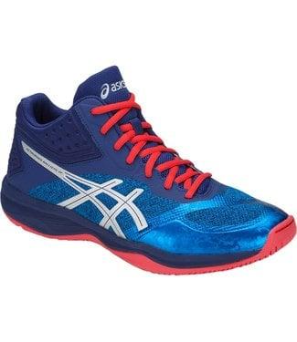Asics Netburner Ballistic FF MT (Blue/Silver) Men's Indoor Shoe