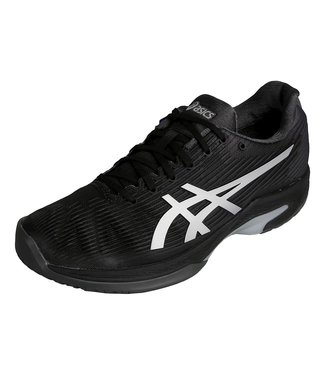 Asics Solution Speed FF (Black/Silver) Men's Tennis Shoe