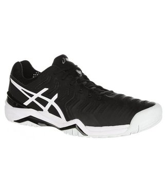 AS Gel-Resolution Novak (Black/White) Men's Tennis Shoe