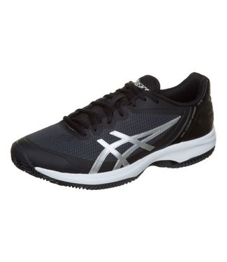 Asics Gel-Court Speed (Black/Silver/White) Men's Tennis Shoe