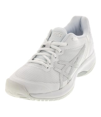 Asics Gel-Court Speed (White/Silver) Men's Tennis Shoe