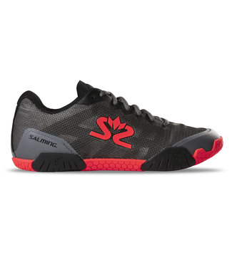 Salming Hawk (Grey/Red) Indoor Shoe