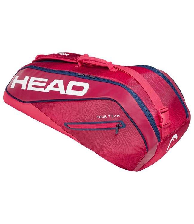 Head Tour Team 6R Combi (Red/Navy) Racket Bag