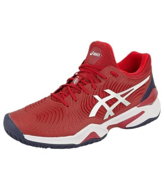 Asics Court FF Novak (Burgundy/White) Men's Tennis Shoe