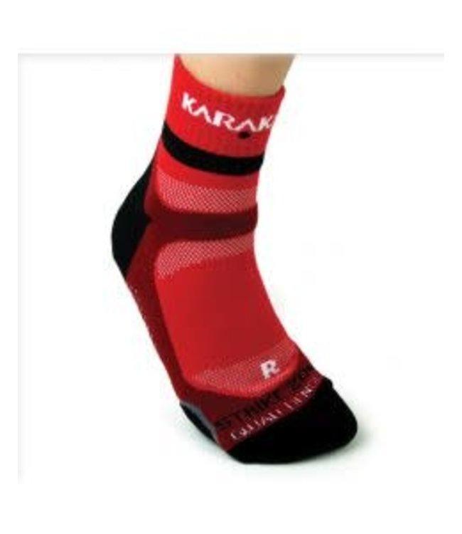Karakal Sock Red X4 Large