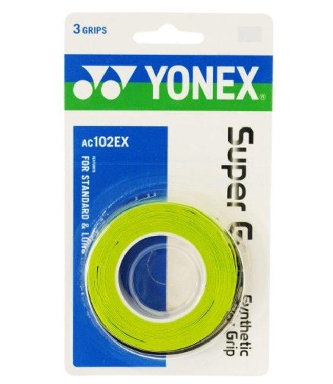 Yonex Super Grap Lime 3-Pack Overgrip