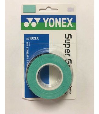 Yonex Super Grap Turquoise 3-Pack Overgrip