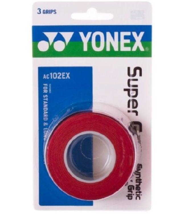 Yonex Super Grap Red 3-Pack Overgrip